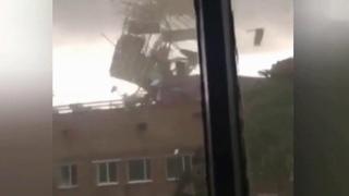 В Туве ликвидируют последствия урагана.