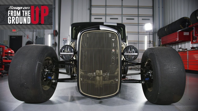 Joey Logano and Team Snap on Builds a 1935 Factory Five Hot Rod Truck Snap on From the Ground Up