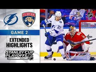 Tampa Bay Lightning vs Florida Panthers R1, Gm2 May 18, 2021 HIGHLIGHTS