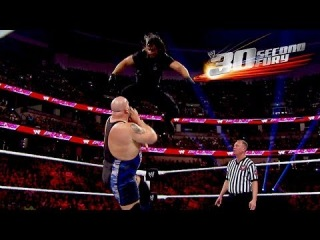 """[#My1] 30 Second Fury - """"The Architect"""" Seth Rollins"""