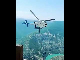 В Дагестане ищут пилота, который ради красивых кадров, рискнул жизнями людей
