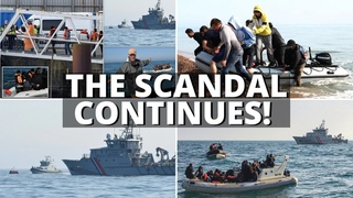 French Navy continue to ESCORT 'illegal migrant boats' into British waters! - UNN Live #357