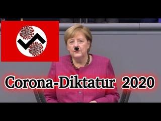 Merkel völlig Irre geworden - Corona-Diktatur ausgerufen
