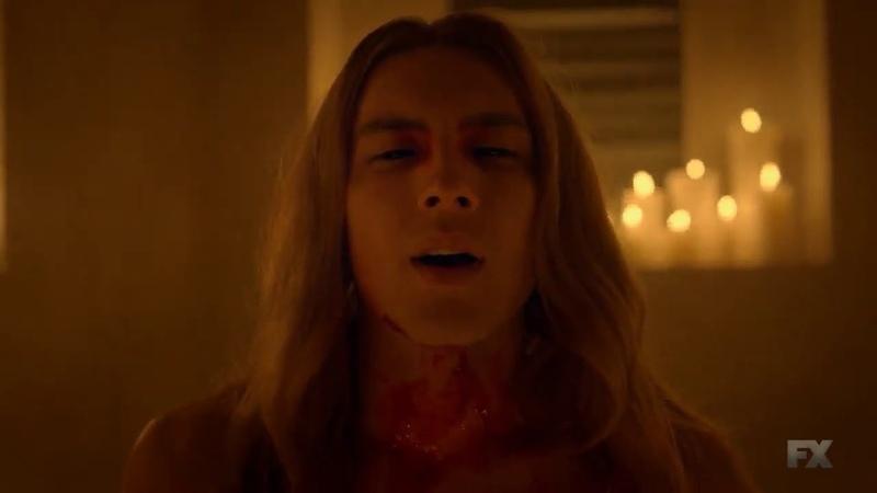 Michael Langdon AHS 8 antichrist AVE SATANAS scene американская история ужасов full scene Apocalypse КЕРИЛ СВЕТ ТРЕДЖЕН