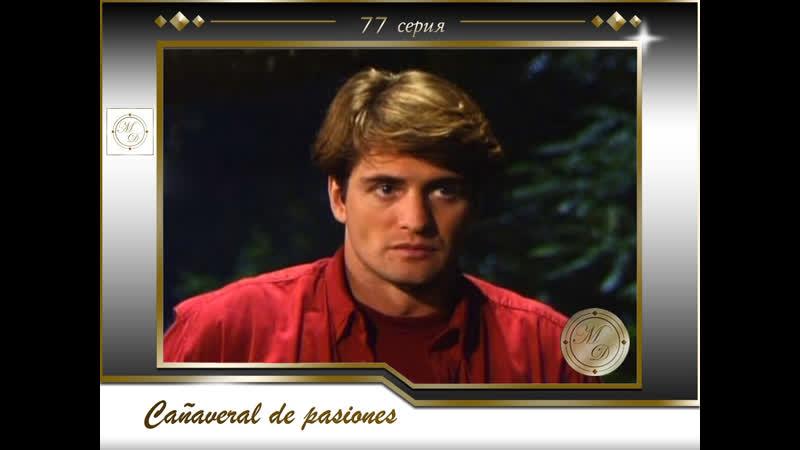 В плену страсти 77 серия Cañaveral de pasiones Capítulo 77
