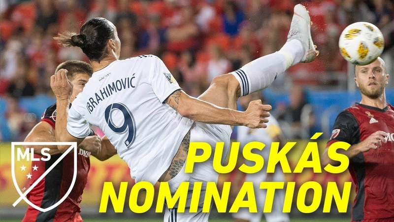 Zlatan's Puskás Nominated Taekwondo Spin Kick Goal ALL ANGLES SLOW MO