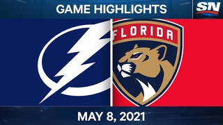 NHL Game Highlights | Lightning vs. Panthers - May 8, 2021