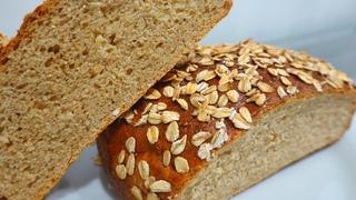 Обалденный овсяный хлеб с мёдом по скандинавскому рецепту. ( Хлеб с овсяными хлопьями ).
