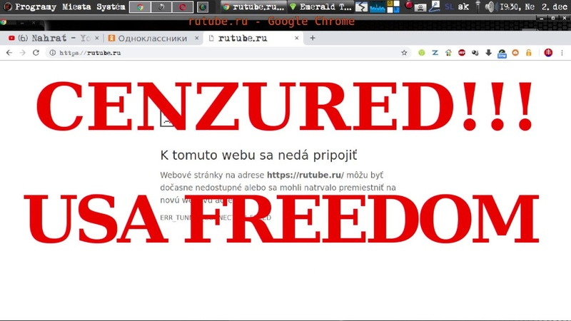 Google cenzura, Образец свободи и демократии в США и Гугл хром