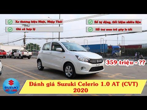 Đánh giá Suzuki Celerio 1 0 AT 2020 Xe Nhật nhập Thái tiết kiệm xăng mà giá chỉ 359 triệu смотреть онлайн без регистрации