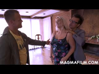 MagmaFilm Sandy -Big Boobs All Aboard German Porn- Magma Film Creampie MILF Horny Mature Babe