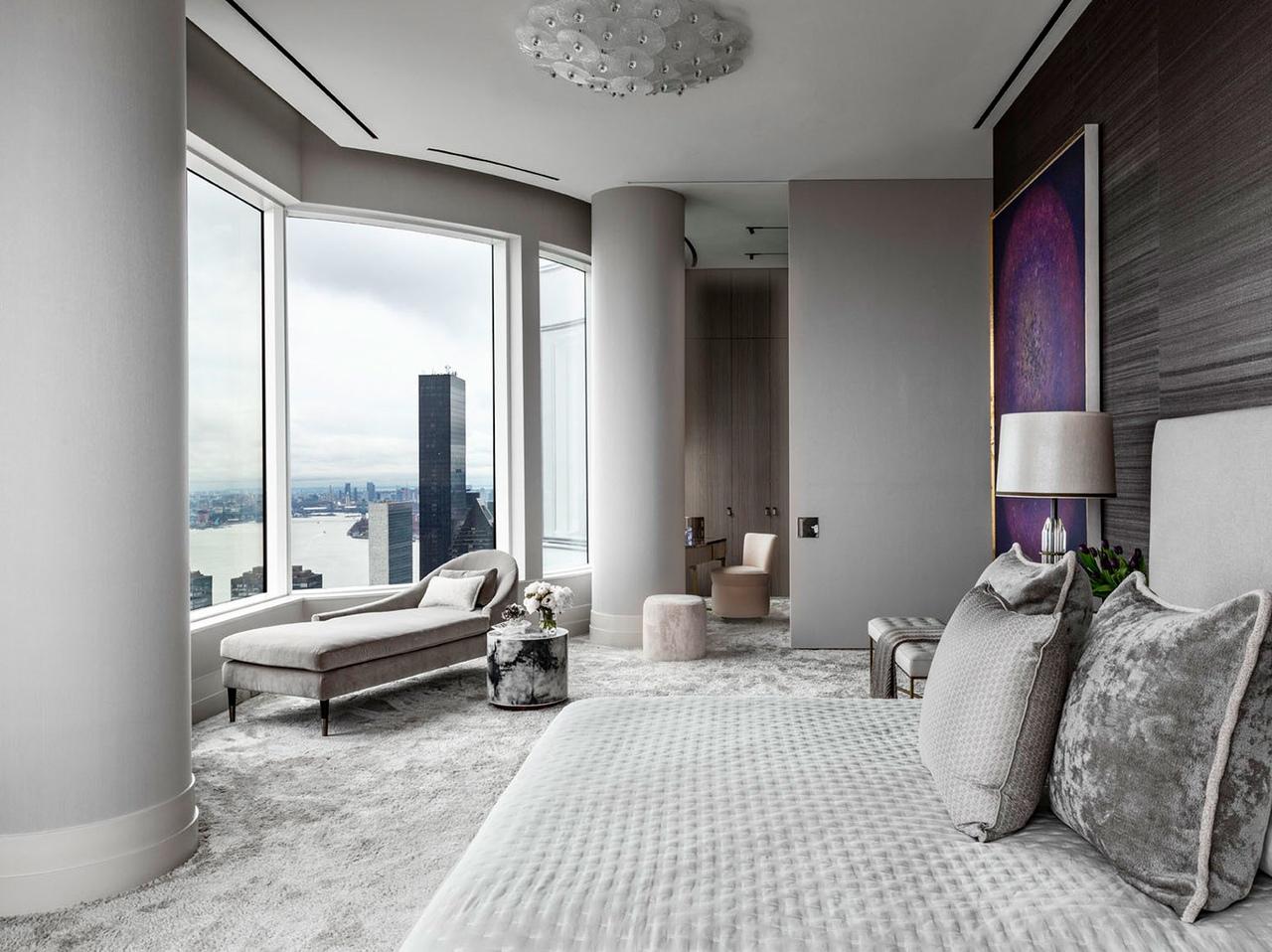Квартира на 60-м этаже по дизайну Дэвида Скотта || 01