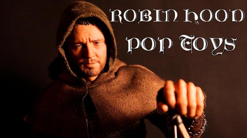 Робин Гуд Рассел Кроу в масштабе 1 6 Pop Toys