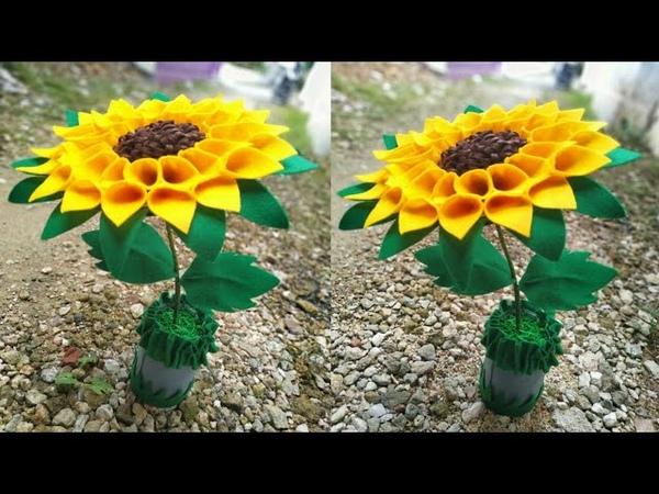 83) Ide Kreatif - Tempat permen terbaru model bunga matahari || candy bunga matahari || lebaran
