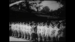 Неизвестная блокада 19 июля 1942 Blockade Leningrad WW2 Праздник Парад физкультурников 19 июля 1942