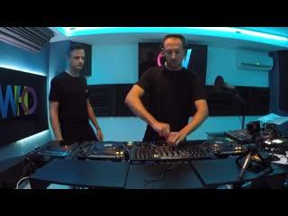 Marc Marzenit b2b Danny Fernandez - Live  Mininight, Who Electronic Radio