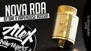 Nova RDA l by BMI VapeHouse Russia l Alex VapersMD review 🚭🔞