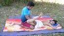 Sog'ayish massaji stressni mushakni kamaytirish uchun mushakni bo'shatish, tabiiy massaj terapiyas