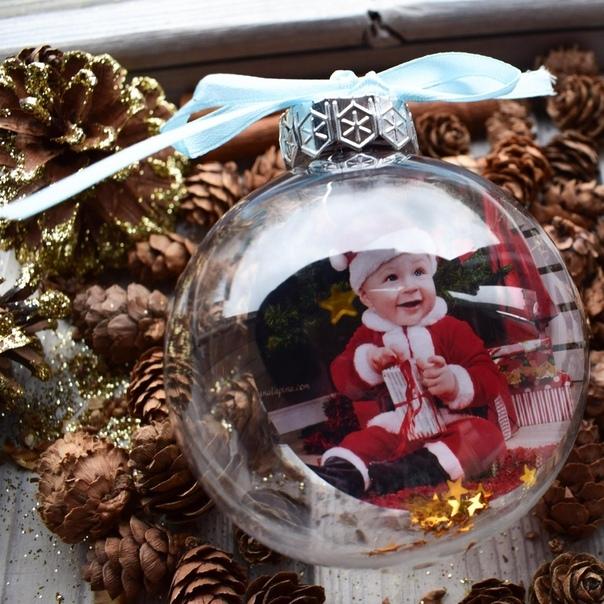 Новогодние шары с фото екатеринбург вас