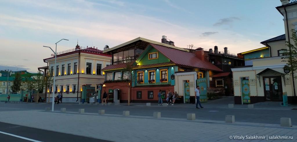 Татарская слобода, Казань 2020