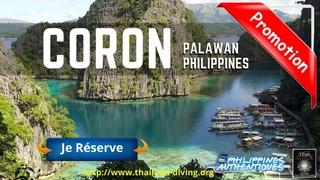 🛳Croisière Plongée Scuba a Coron Philippines Palawan, séjour  100% nature à #Busuanga Plongee Asie