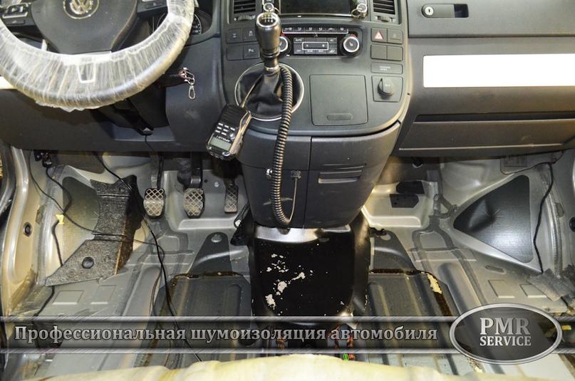Шумоизоляция Volkswagen Multivan, изображение №12