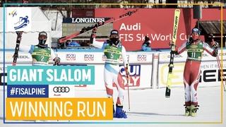 Marco Odermatt | 1st place | Kranjska Gora | Men's Giant Slalom | FIS Alpine
