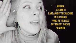 Nirvana, Aerosmith, RATM, Enter Shikari, Panic! At the disco, Nothing But Thieves, Paramore covers