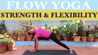 Flow Yoga Workout for Strength and Flexibility | Yogalates with Rashmi