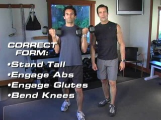 Tony Horton Trainer Tips - Staggered Stance