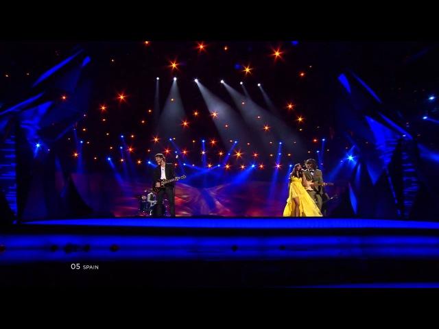 Евровидение 2013 Испания ESDM Contigo Hasta El Final Финал HD