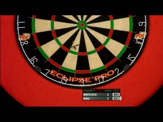 Simon Whitlock vs Mervyn King (PDC Coral Masters 2013 / First Round)