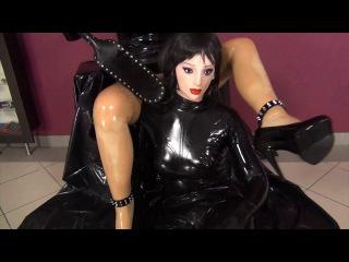 Rubber Female Mask Sex