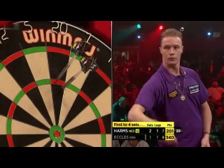 Tony Eccles vs Wesley Harms (BDO World Darts Championship 2014 / Round 2)