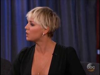 Kimmel -  - Kaley Cuoco-Sweeting, Anthony Anderson, (Bastille)
