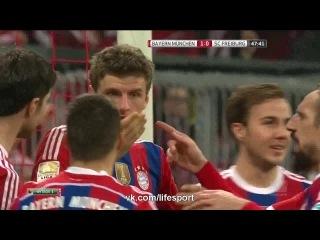 Бавария 2:0 Фрайбург | Гол Мюллера