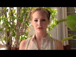 The Vampire Diaries' Candice Accola Q&A (pt. 1)