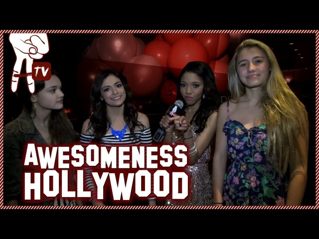 Macbarbie07 and Olivia Holt Hanging Out at Teala Dunn's 16th Birthday Party Awesomeness Hollywood