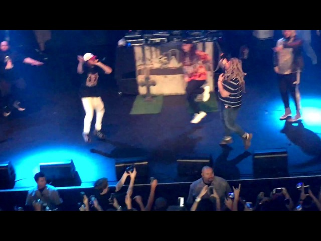 Fat Nick 2 Hot 4 U feat $uicideboy$ Live in LA 11 6 2016