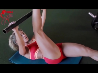 Female fitness motivaton ''hot girls workout'' 2016_[азиатки, порно, эротика, asian, хентай]