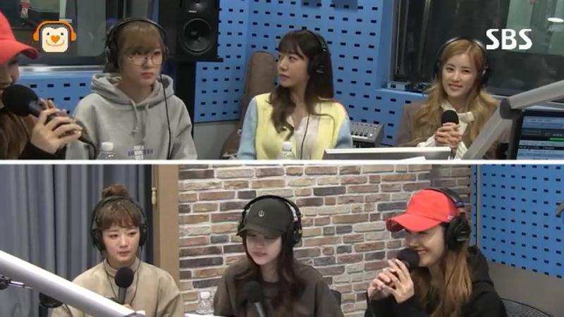 RADIO A PINK FULL SBS POWER FM KIM CHANGRYUL'S OLD SCHOOL 161O18