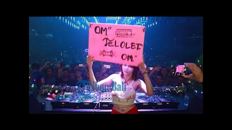 Demam OM TELOLET OM DJ Butterfly bawakan lagunya saat perform