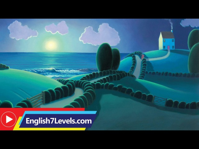 Learn English Through Story ★ Subtitles The House by the Sea elementery level