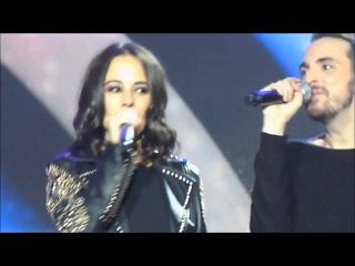 Alizée & Christophe Willem @ Les Enfoirés 2013 (24/01/2013)