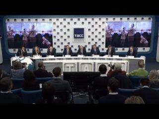 """""""ОТВЕТ ПРОВОКАЦИЯМ"""". Пресс-конференция Г. А. Зюганова,"""