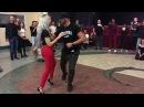 Sara Lopez Ivo Viera dancing Kizomba at BachaaKizzz 1st Edition Stuttgart