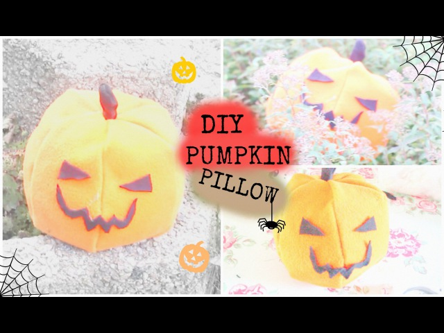 Halloween ☠ Pumpkin Pillow