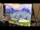 Изучаем методы Ван Гога, масляная живопись для начинающих в Москве