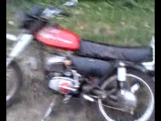 Ремонт мотоцикла за 3 секунды