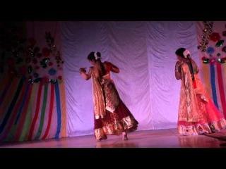 """Индийский танец """"Nagara"""", исп. Камаль и Сунита"""